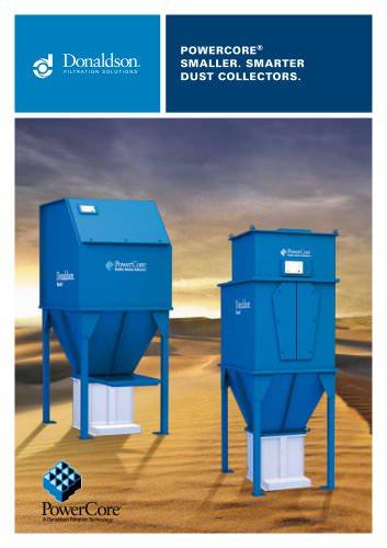 Powercore® Smaller. Smarter dust collectors