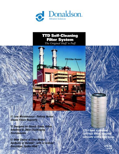 TTD Self-Cleaning Filter System
