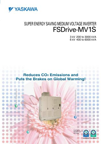 SUPER ENERGY SAVING MEDIUM VOLTAGE INVERTER FSDrive-MV1S