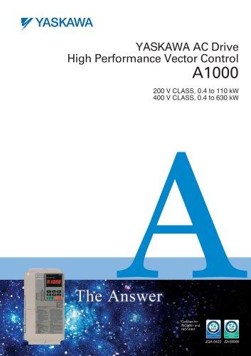 YASKAWA AC Drive High Performance Vector Control A1000