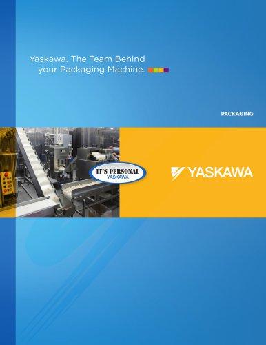 Yaskawa. The Team Behind  your Packaging Machine.
