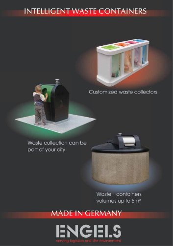 Intelligent waste containers