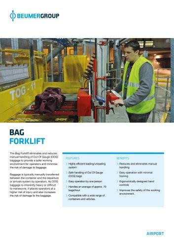 BEUMER Bag Forklift