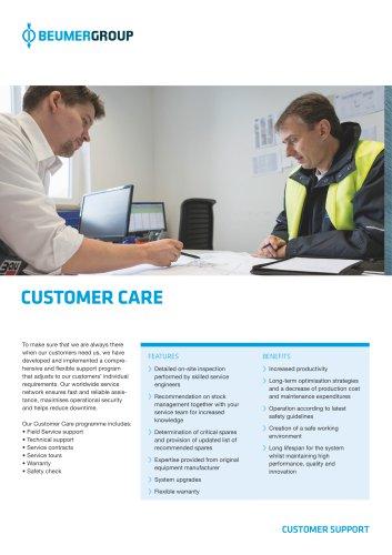 BEUMER Customer Care