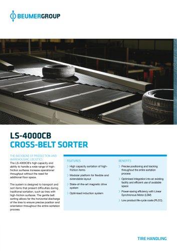BEUMER LS-4000CB Tire Handling