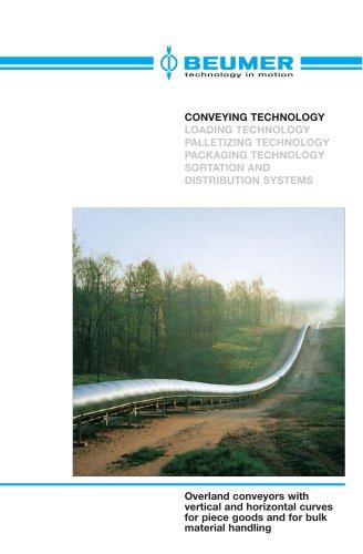 BEUMER Overland Belt Conveyor