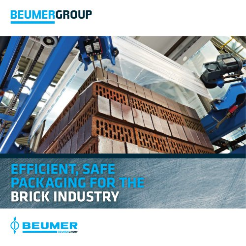 BEUMER Packaging for the Brick Industry