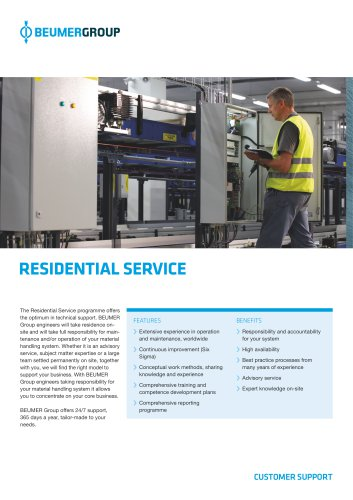 BEUMER Residential Service