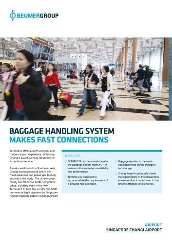 BEUMER Singapore Changi Airport Case Study