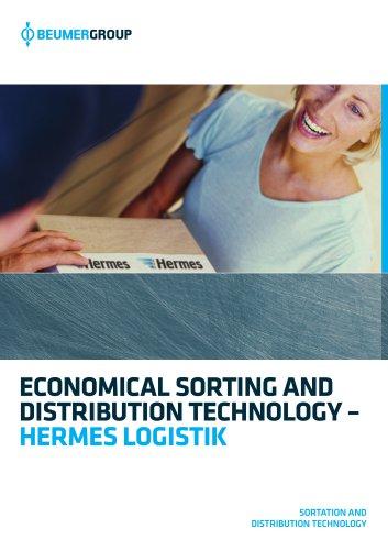 BEUMER Sortation and Distribution Technology for Hermes Logistik