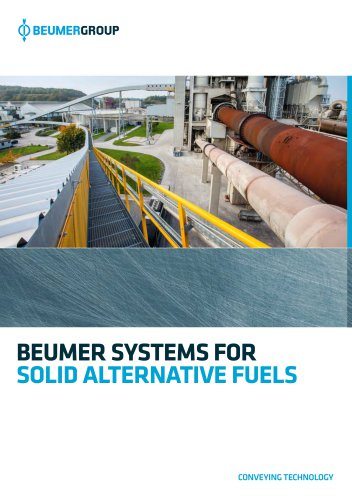 BEUMER Systems for Solid Alternative Fuels