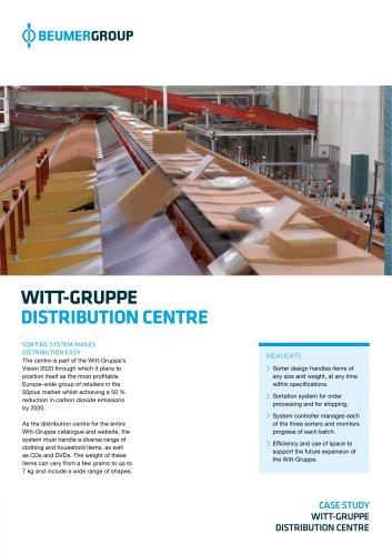 BEUMER Witt-Gruppe Distribution Centre
