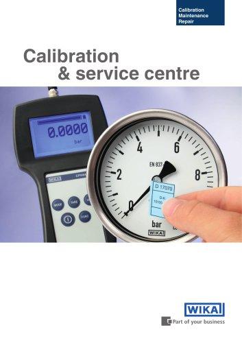 Calibration and service centre