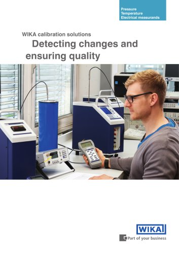 Detecting changes and ensuring quality