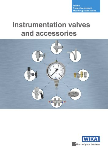 Instrumentation valves and accessories