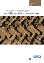 Mobile working machines