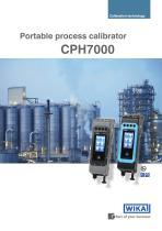 Portable process calibrator CPH7000