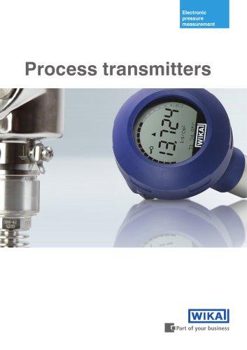 Process transmitters