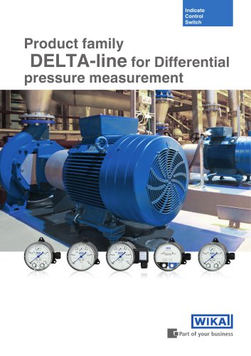 Product Family DELTA-line for Differential pressure measurement