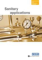 Sanitary applications