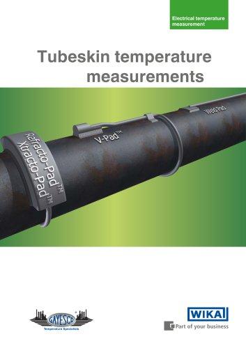 Tubeskin temperature measurements
