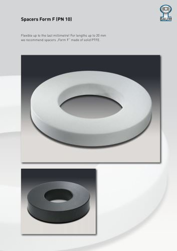 Spacers Form F (PN 10)
