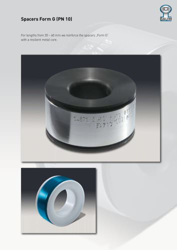 Spacers Form G (PN 10)