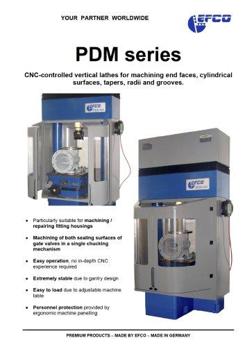 PDM series - EFCO Maschinenbau GmbH - PDF Catalogs