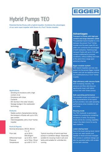 Egger Hybrid Pumps TEO