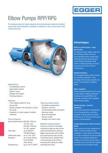 Elbow Pumps RPP