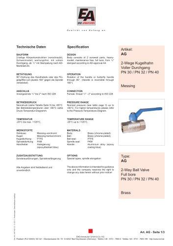 Data sheet AG