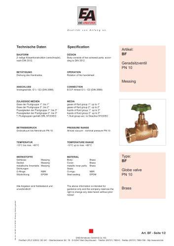 Data sheet BF