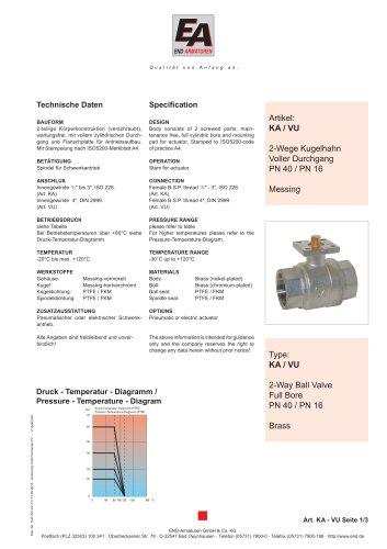 Data sheet KA