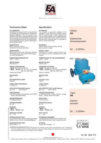 Data sheet NE