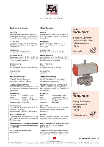 Data sheet PD-EE