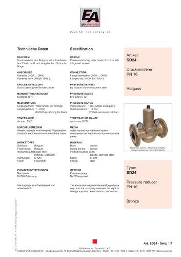 Data sheet SD24