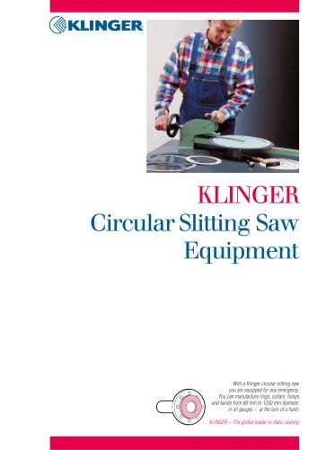 KLINGER®Ringschneidemaschine