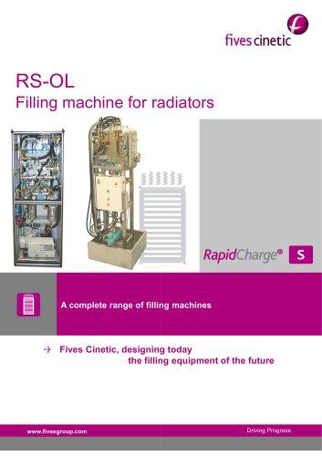 RS-OL Filling machine for radiators