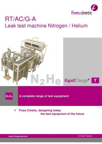 Vacuum chamber tests