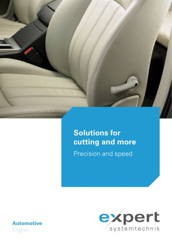 Automotive - Solutions for cutting and more
