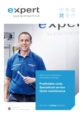 Predictable costs Specialized service Quick maintenance