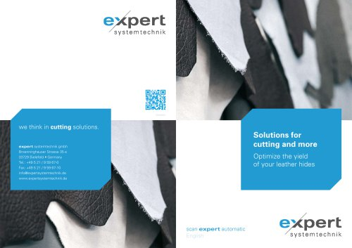 scan expert automatic - halfautomated optimization of your leather hides