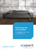 Upholstery / Furniture - optimieren Sie Ihre Produktionyour materials