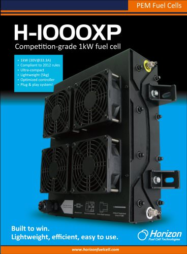 H-1000XP - Horizon Fuel Cell Technologies - PDF Catalogs | Technical
