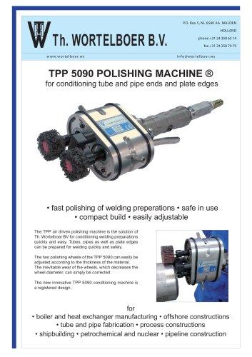 TPP 5090 Polishing machine