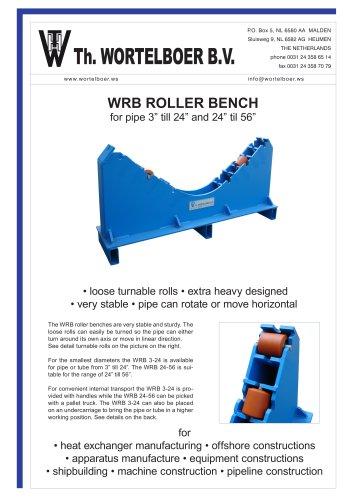 WRB ROLLER BENCH