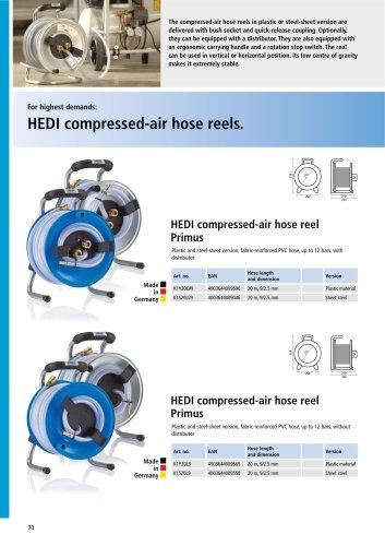 HEDI compressed-air hose reels