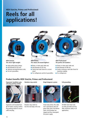 Reels for all applications