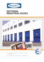 Industrial Doors: sectional, accordion, and sliding