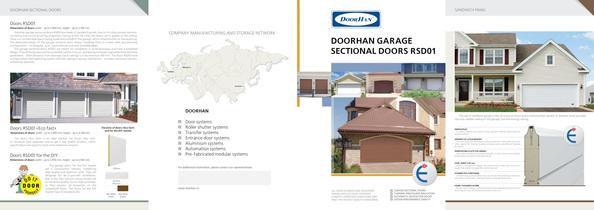 Leaflet ?DoorHan Garage Sectional doors RSD01?
